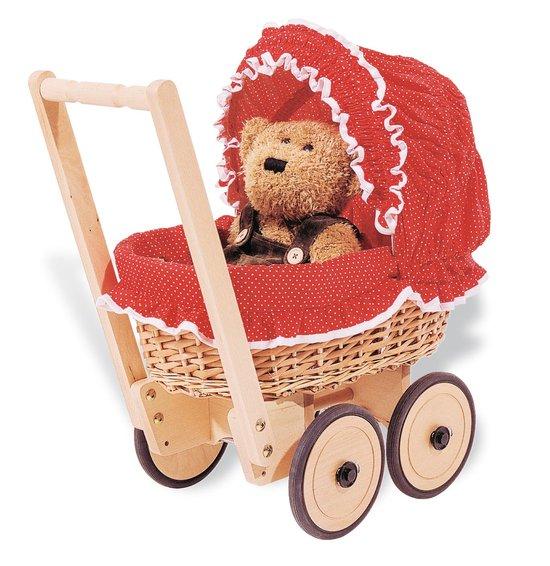 Pinolino rieten kinderwagen